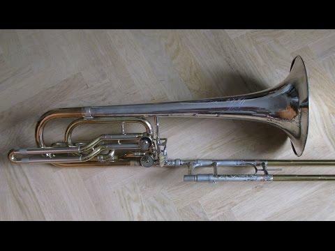 Alec Wilder Sonata for Bass Trombone & Piano - audio from tape