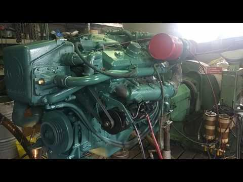 Detroit Diesel 8V92TI Marine YouTube