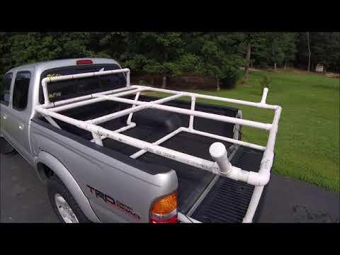 Homemade PVC Kayak Rack