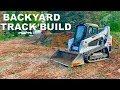 FINALLY STARTING THE BACKYARD TRACK BUILD!!!