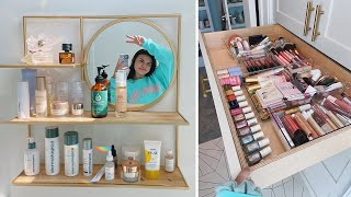 Organizing my skincare & makeup collection