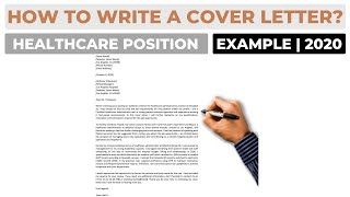 How To Write A Cover Letter For A Healthcare Administration Job Example Youtube