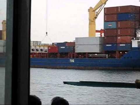 Transportation from Sasa Wharf to go to Babak Samal Island, Davao del Norte...