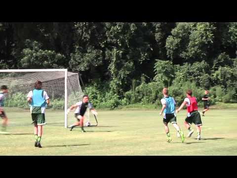 2015 practice begins for Jacksonville University Men's Soccer