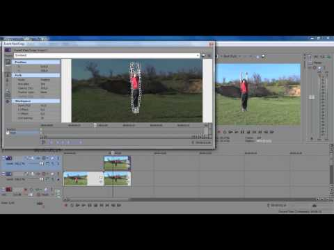 видео: Эффект супермена в программе sony vegas pro 10