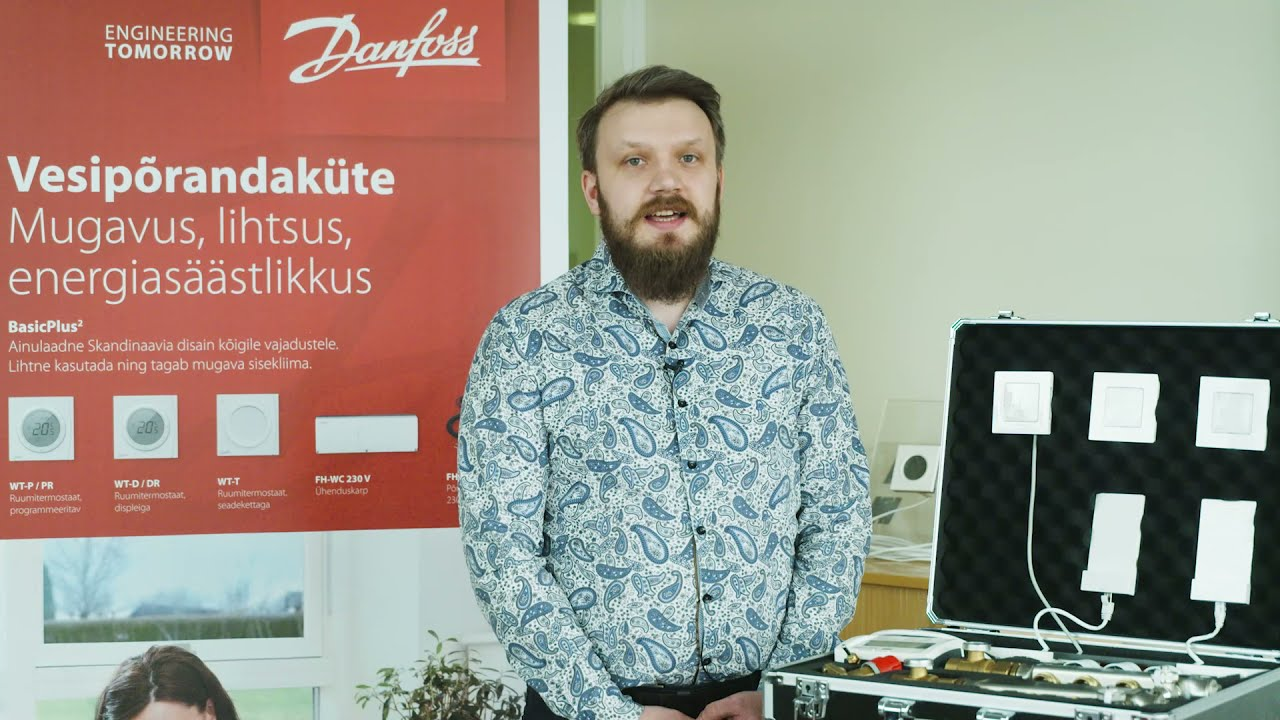 Onninen teemapäevad: Danfoss vesipõrandküte - Dmitri Kuznets