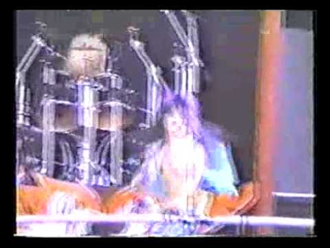 Tigertailz - Star Attraction - Live Mildenhall Speedway 1990