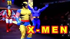 X-MEN vs DC Comics