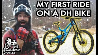 Downhill Mountain Bike vs. Horseface // Following Seth's Bike Hacks Down The Steepest Trail Ever
