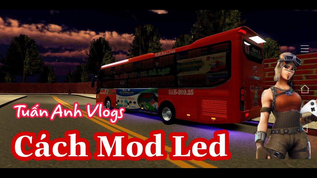 Cách Mod Led Vào Thaco _ Tuấn Anh Vlogs
