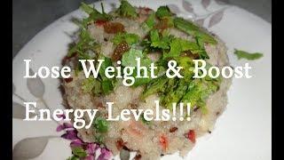 Protein rich Sooji Upma (Semolina Diet): Quick and Healthy Snack/ Breakfast