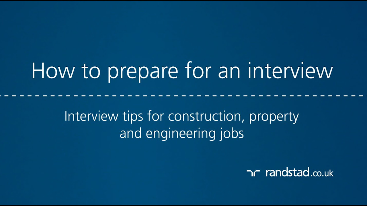 construction jobs interview questions and answers randstad co uk