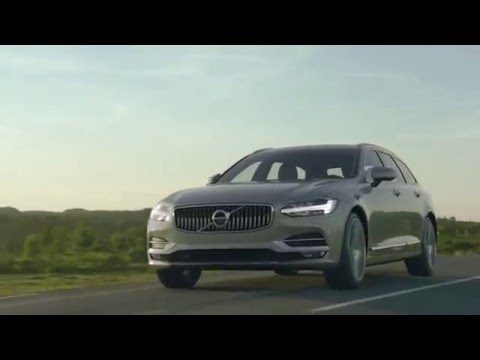 Volvo Cars presents the new V90. The pinnacle of the modern estate.