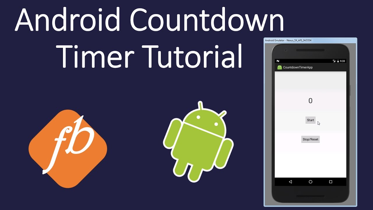 Android Countdown Timer Tutorial