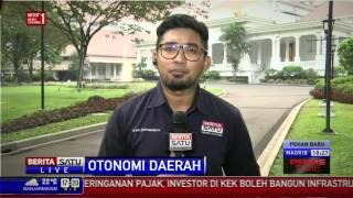 Jokowi Rapat Bahas Otonomi Daerah dan Pilkada Serentak