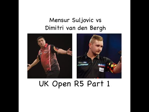 Mensur Suljovic vs Dimitri van den Bergh UK Open R5 ( part 1/3 )