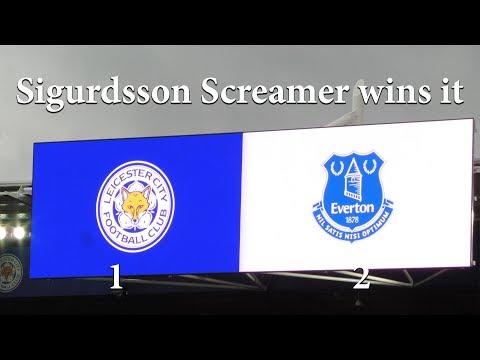 LCFC  v Everton (1-2) Sigurdsson Screamer wins it