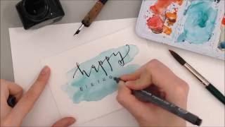 Geburtstagskarte - DIY Anleitung auf eineckig.com