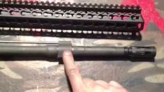 How to remove a stuck AR-15 gas block
