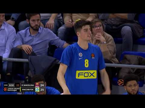 Highlights: FC Barcelona - Maccabi FOX Tel Aviv 96:73