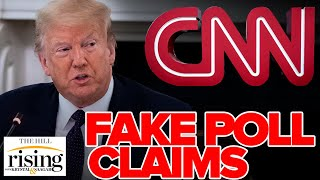 Krystal and Saagar: Trump calls BRUTAL CNN poll 'fake news', here are the facts