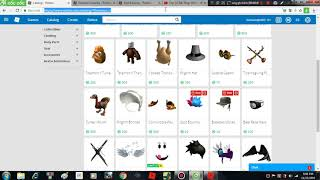 Roblox-Sell Items-Limited Black Friday