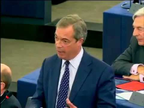 "Nigel Farage: ""This will be the last European Commission that governs Britain"""
