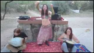 """Saldek"" (traditional belly dance song, improvised)"