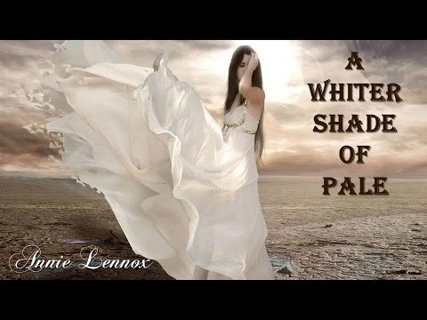 A Whiter Shade of Pale   Annie Lennox  TRADUÇÃO HD Lyric