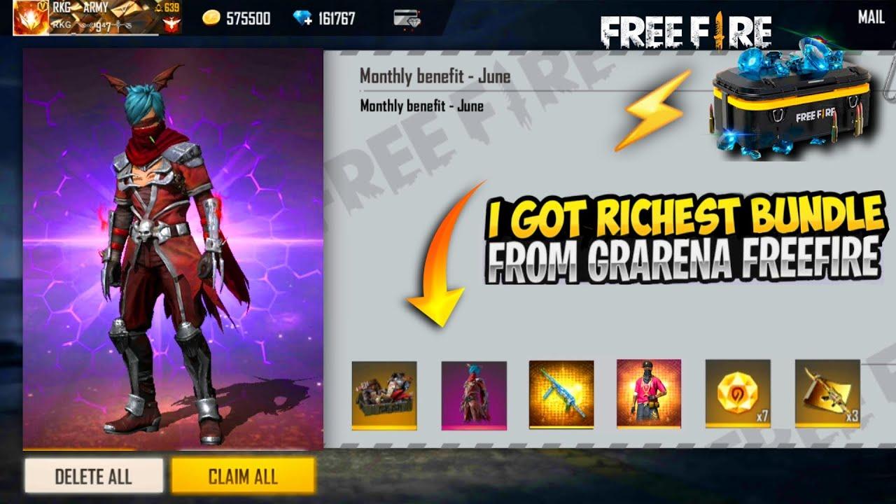Biggest Gift From Garena || I Got Assassin Cross Bundle & Season 5 Elite Pass Bundle || Free Fire