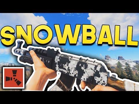 The FASTEST SOLO SNOWBALL! - Rust SOLO