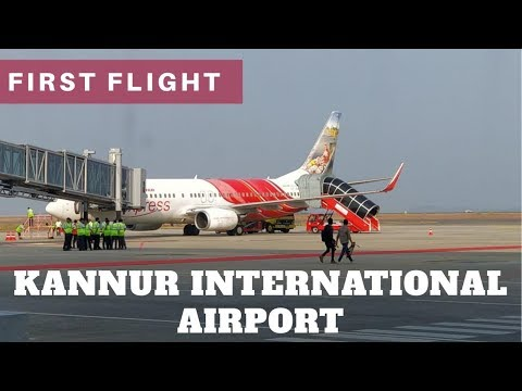 First Flight - Kannur International Airport