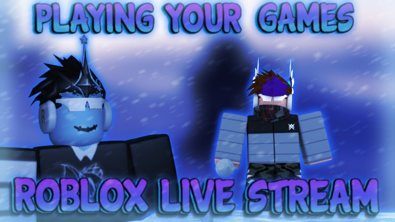 Roblox Playing Your Games Chill Stream Chill Face Youtube