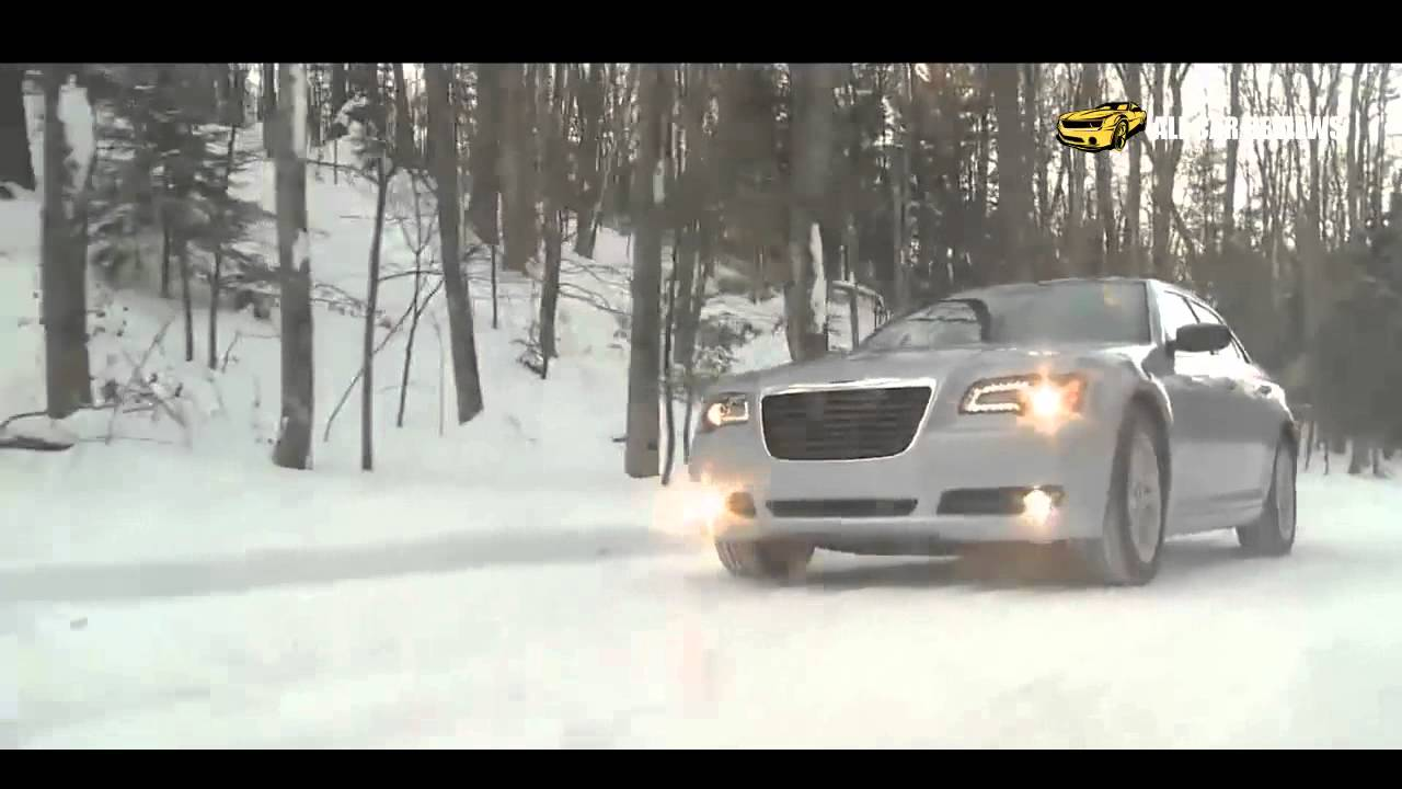 2013 chrysler 300 glacier awd on snow youtube. Black Bedroom Furniture Sets. Home Design Ideas