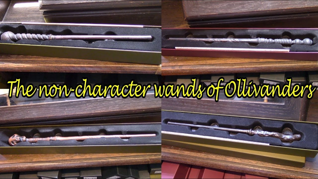 The Non Character Wands Of Ollivanders