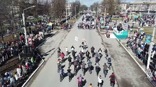 Первомайский парад 2018, г. Чайковский.