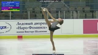 Мария КРАСНОЖЕНОВА マリア クラスノジェノワ SP Всероссийские соревнования памяти В Н Гольмана