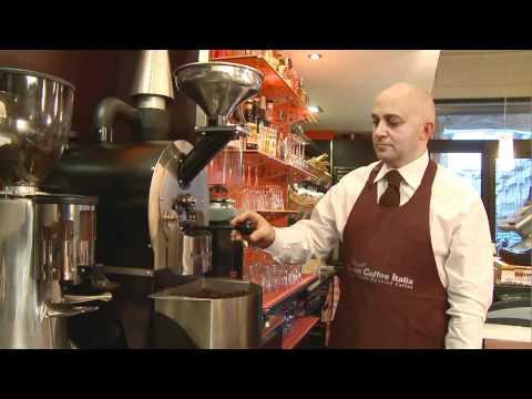 How it's works the coffee roaster Gemma, Tostatura del caffè con la tostatrice  Gemma