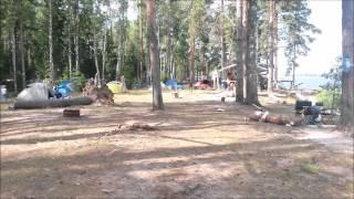 видео Отдых дикарём на Волге. Отдых на берегу реки