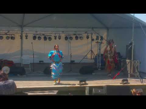 "Monica Jingle Dancer ""Musical Echoes"" 2018"