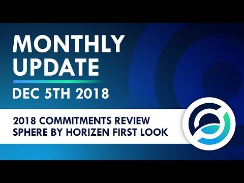 Horizen Live Stream 5 Dec 2018 - Community Activity And Team Updates