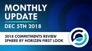 Horizen Live Stream 5 Dec 2018 - Community Activity and Team Updates