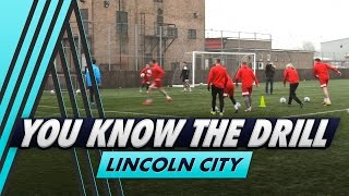 Crazy Football Assault Course | You Know The Drill - Lincoln City