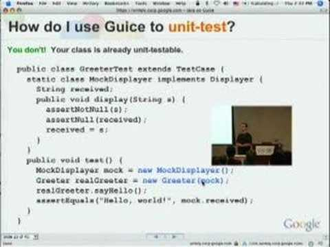 Java on Guice: Dependency Injection, the Java Way
