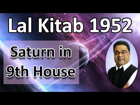 Repeat LAL KITAB ASTROLOGY: SATURN IN 9th HOUSE (HINDI) by