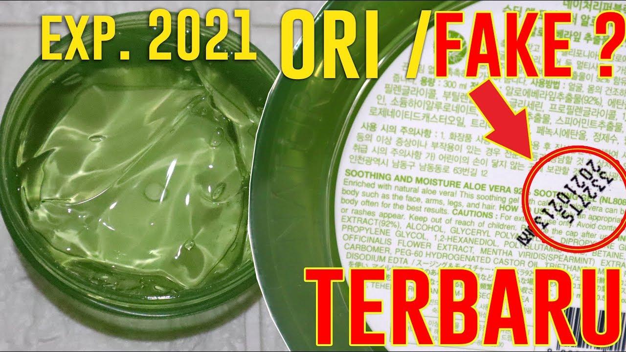 Terbaru Nature Republic Soothing N Moisture 92 Aloe Vera Gel Expired 2021 Maria Soelisty Youtube