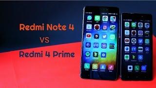 Xiaomi Test : Redmi Note 4 VS Redmi 4 Prime (Speed, Benchmark, Battery,....)