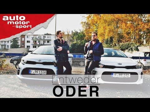 Kia Rio Vs. Kia Picanto   Entweder ODER   (Vergleich/Review) Auto Motor Und Sport