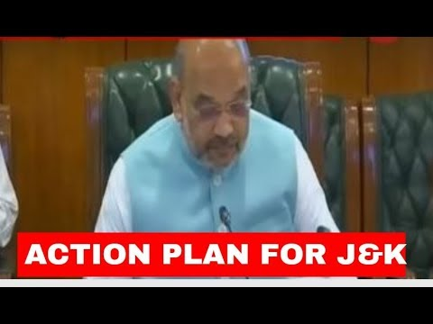 Breaking News: Home Ministry`s action plan ready for J&K