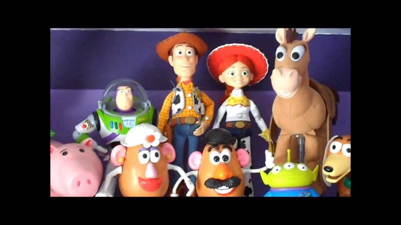 My Toy Story Collection - Mi Colección de Toy Story - YouTube cca25914da4